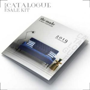 Professional catalogue for interior company
