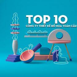Top 10 công ty thiết kế đồ họa chuyên nghiệp trên toàn cầu